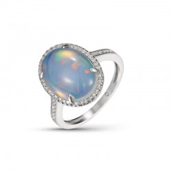 Luvente Opal Ring