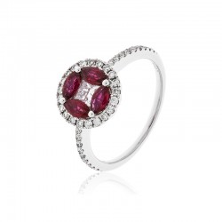 Luvente Ruby Ring
