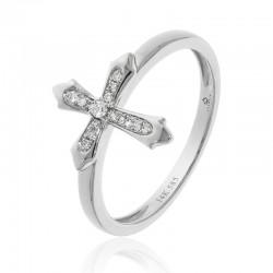Luvente Diamond Cross Ring