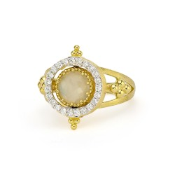 JudeFrances 18K Yellow Gold Ring