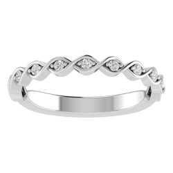 True Romance 14KW Diamond Wedding Band