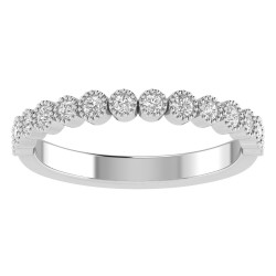 True Romance 14KY Diamond Wedding Band