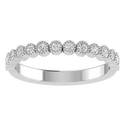 True Romance 14KY Diamond Wedding Band