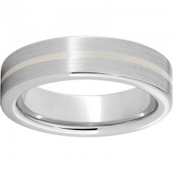 Serinium® Sterling Inlay Band