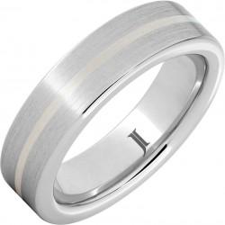 Serinium® Sterling Inlay Band