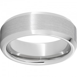 Serinium® Beveled Satin Finish Band