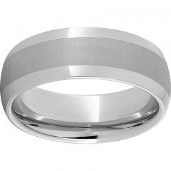 Serinium® Domed Laser finish Band