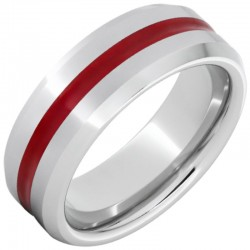 Serinium® Red Enamel Band