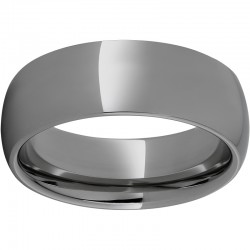 Rugged Tungsten™ Domed Polised Band