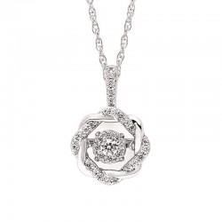 SS Shimmering Diamonds® Pendant