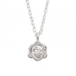 SS Shimmering Diamonds® Flower Pendant