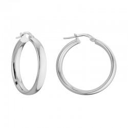 SS Hoop Earrings