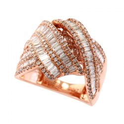 14K Rose God Ring