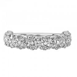 18KW Diamond Wedding Ring