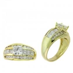 Ryan Gems 14K Yellow Gold Wedding Ring