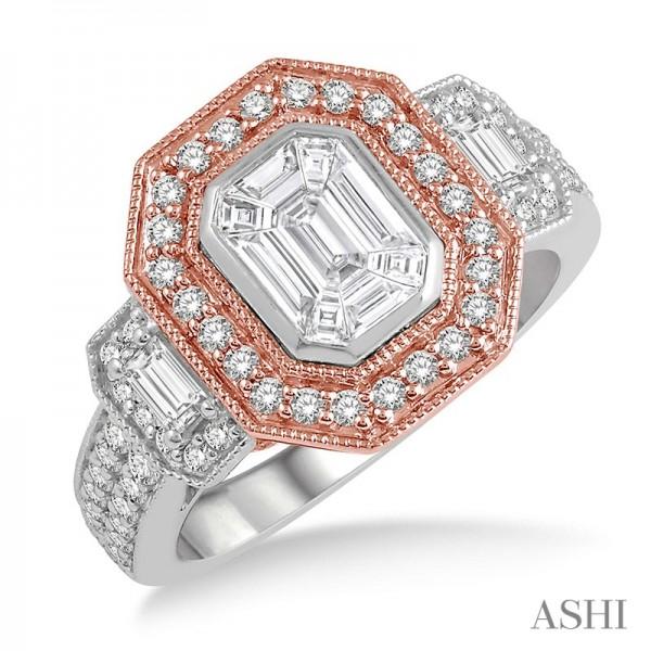 14KWR 1.25ct tw Fusion Diamond Ring
