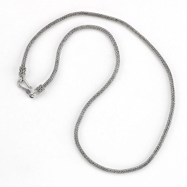 Samuel B. Sterling Silver 2.5mm Tulang Naga Chain 18