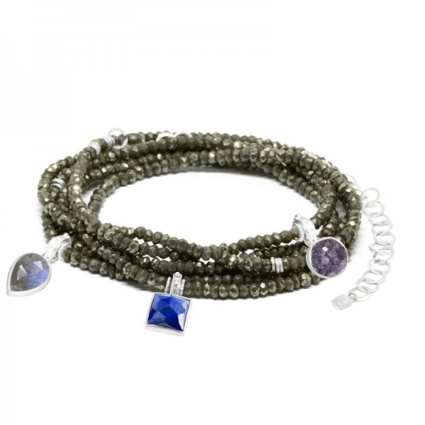 Jacket Friendly Heritage Pyrite Silver Convertible Wrap