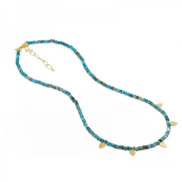 Heritage Apatite 18KY Necklace