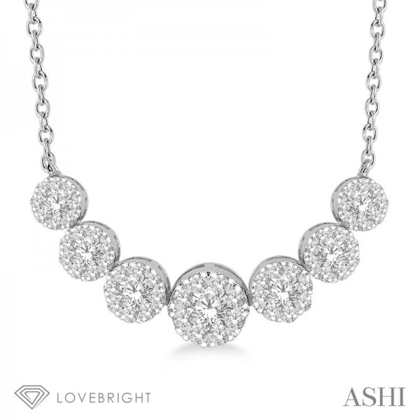14KW .75ct tw LoveBright Diamond Necklace