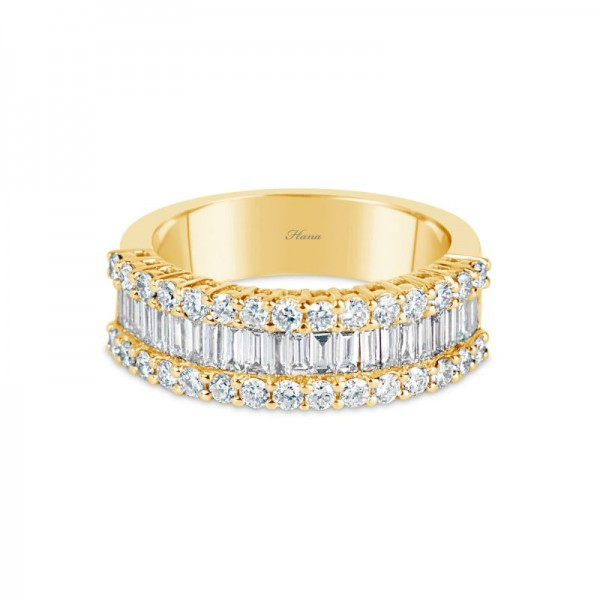 18KR Diamond Fashion Ring