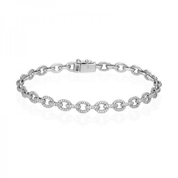Luvente Diamond Chain Link Bracelet