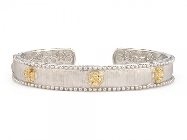 JudeFrances sterling silver stackable cuff bracelet