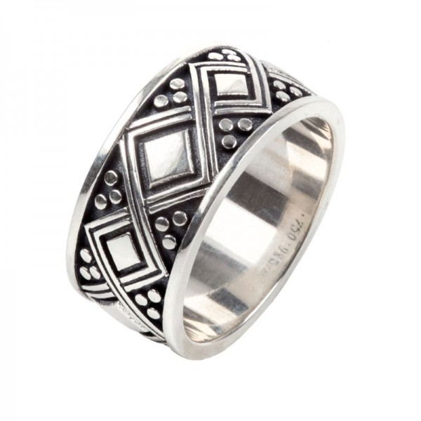 Men's  Silver Ring, Size 10