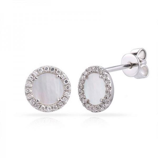 Luvente Mother of Pearl Earrings