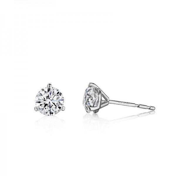14KW Diamond Stud Earrings