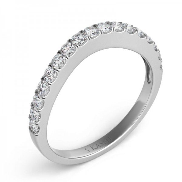 14K White Gold Gold Matching Band