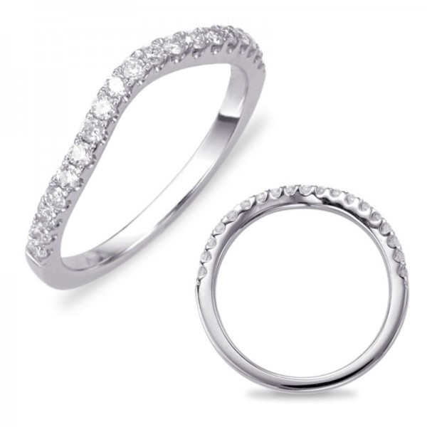 14K White Gold Gold Matching Diamond Band