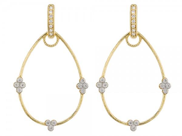 JudeFrances 18K Yellow Gold Earrings