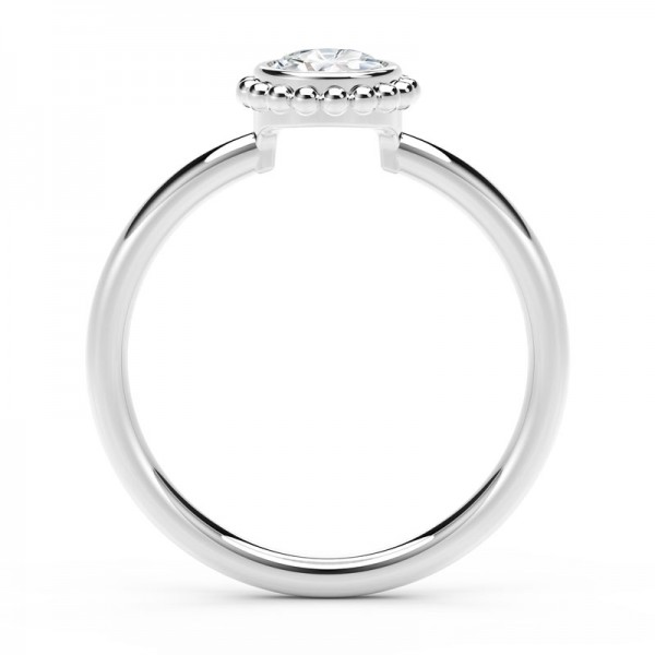 The Tribute™ Collection Classic Forever Bezel Diamond Ring