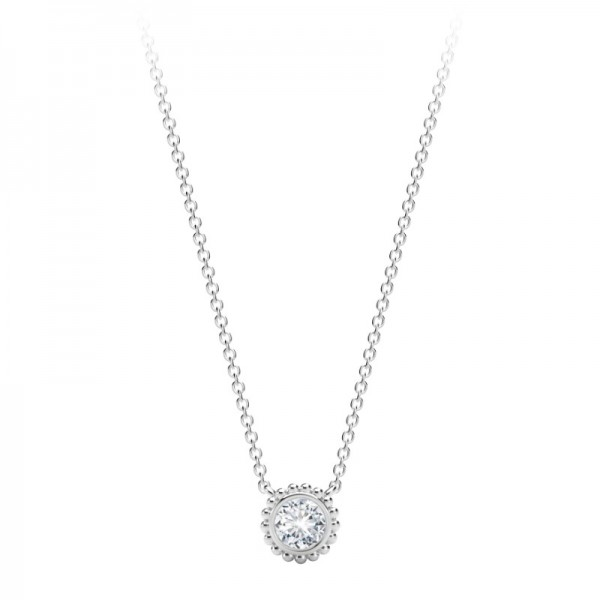 The Tribute™Collection Round Beaded Pendant