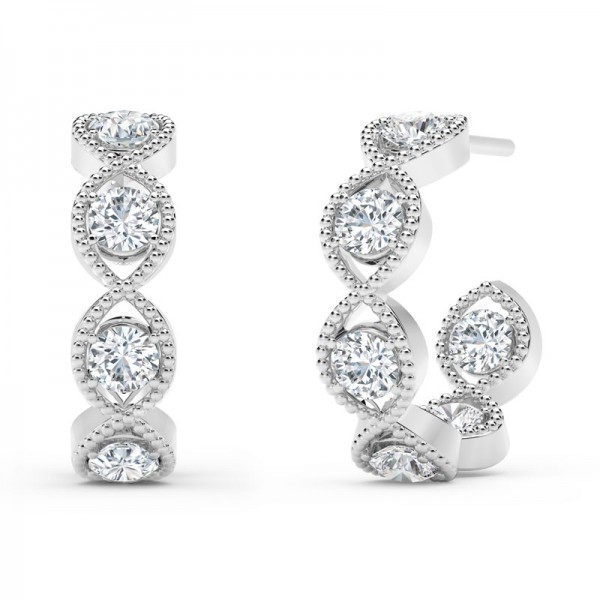 The Tribute™Collection Diamond Earrings