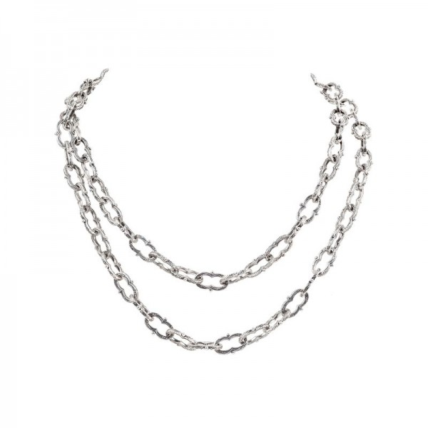 Women's Sterling Link Necklace