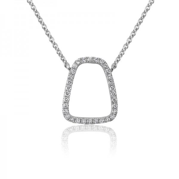 14KW Diamond Artichoke Pendant