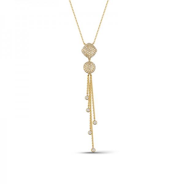 Luvente Diamond Tassel Necklace