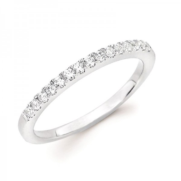 14KW Diamond Stackable Anniversary Ring