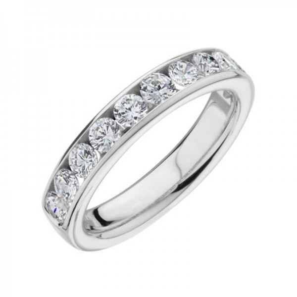 18KW .50ctw Diamond Ring
