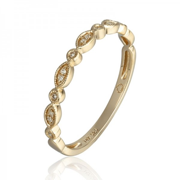 Luvente Diamond Stackable Band