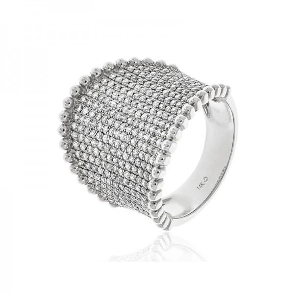 Luvente Diamond Saddle Ring