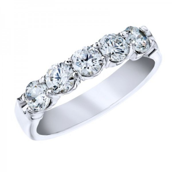 18KW 1.00ctw Diamond Fashion Ring