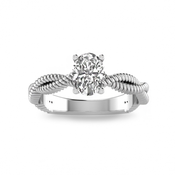 True Romance 14KW Solitaire Engagement Ring