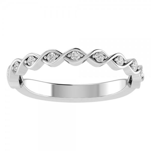 True Romance 14KW Diamond Wedding Band
