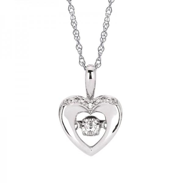 SS Shimmering Diamonds® Heart Pendant