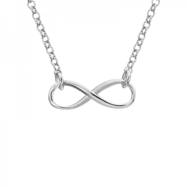 SS Infinity Necklace