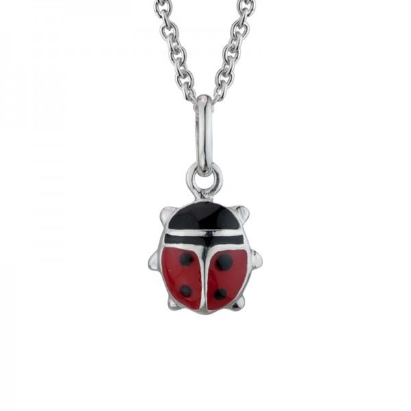 SS Ladybug Pendant