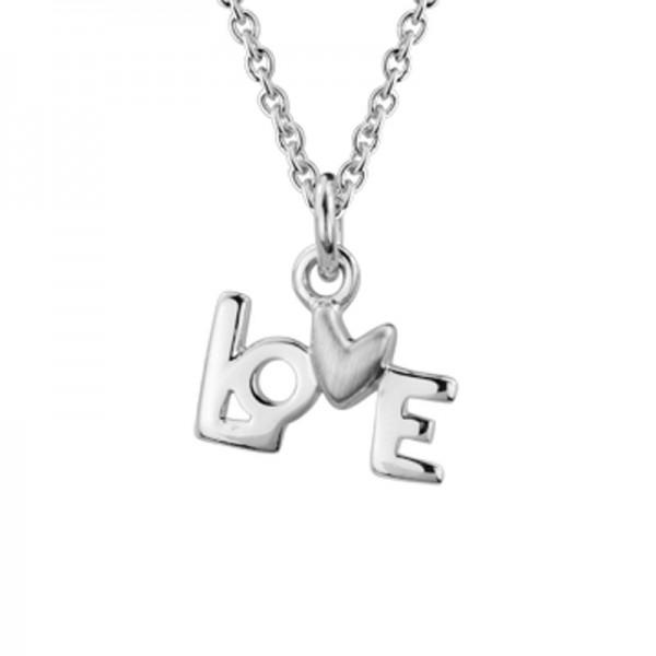 Silver love Charm Pendant